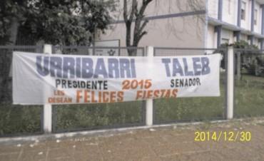 La Juventud Radical del Departamento Federal ha denunciado al Senador Taleb