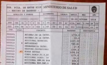Será digital la expedición y distribución de recibos de sueldos de estatales entrerrianos