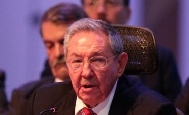Raúl Castro exige a Estados Unidos cesar bloqueo contra Cuba para normalizar relaciones