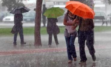 Rige un alerta meteorológico para Entre Ríos por tormentas fuertes