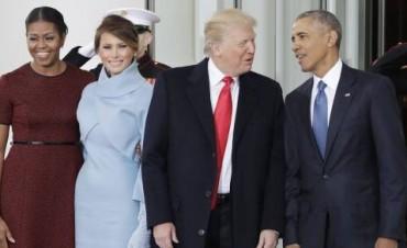 El multimillonario Donad Trump juró a la Constitución de Estados Unidos y asumió la Presidencia