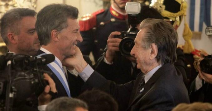 Franco Macri le puso un 5 al primer año de Mauricio