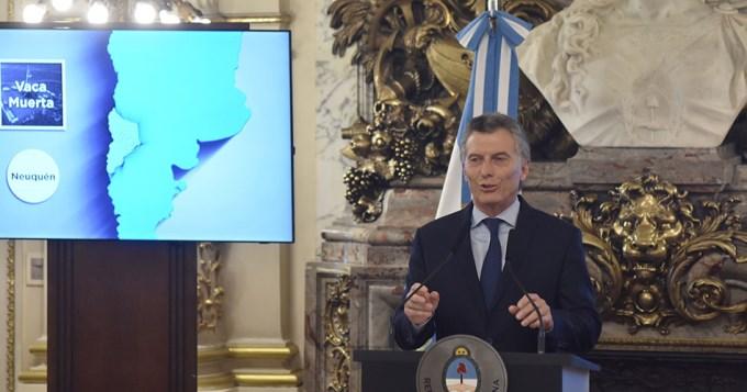 Macri insistió en que hay que cuidar la energía