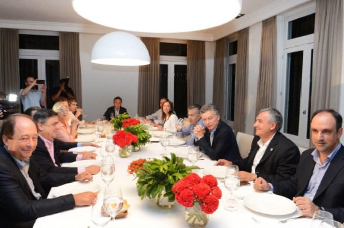 Macri recibió con asado a los radicales en Olivos