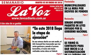 LA PRIMERA DEL 2018