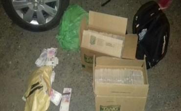Secuestraron más de 3 millones de pesos de dudosa procedencia en Ruta 127 personal de Federal
