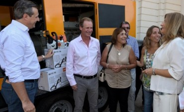 Bordet entregó un generador de energía para atender emergencias en el norte entrerriano