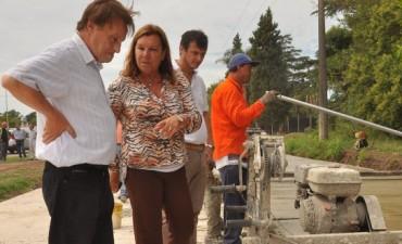 La doble vía entre la capital provincial y Oro Verde registra un grado de avance del 40 por ciento