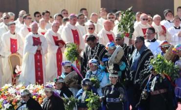 El Papa celebró la