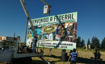 REFACCIONES DEL CARTEL TURÍSTICO SOBRE RUTA NACIONAL 127