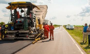 Registran avances las obras en la rutas 51 y en el acceso a San Antonio