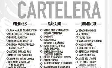 CARTELERA DE LA MEGA FIESTA DE FEDERAL