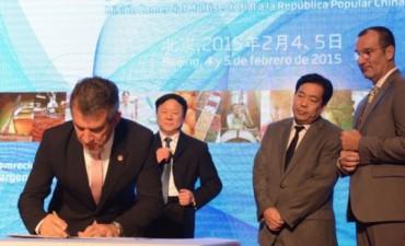 Urribarri firmó nuevos acuerdos con China por u$s250 millones