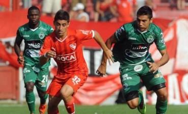 Independiente rescató un punto sobre el final ante Sarmiento