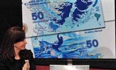 En marzo el Banco Central saca los nuevos billetes de 50 pesos