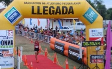 Récord histórico. El paso de Martín Mendez en la Maratón de Federal