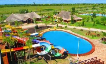 Este viernes se inaugura el parque acuático de María Grande