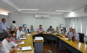 Se reunieron los bloques legislativos para coordinar el trabajo en comisiones