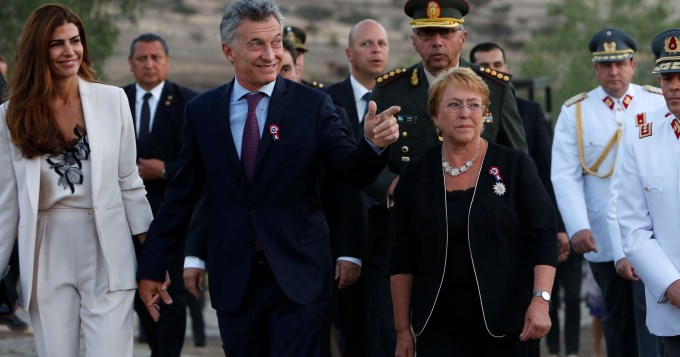 Macri celebró en Chile los 200 años de una victoria histórica