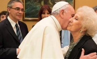 Sugestivo mensaje del Papa tras reunirse con Carlotto: