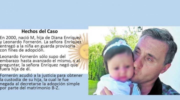 Procesan a un juez y a otras 9 personas por la sustracción de una menor en Entre Ríos