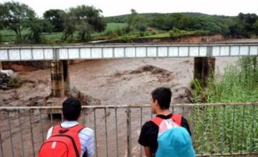 Más de 5 mil evacuados por el temporal en el centro del país