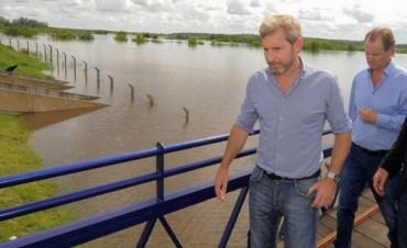 Entre Ríos: Frigerio viajó a Villa Paranacito por la creciente del Río Paraná