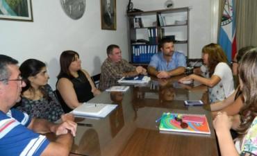 El Intendente municipal se reunió con la titular de la subsecretaría pcial de la mujer