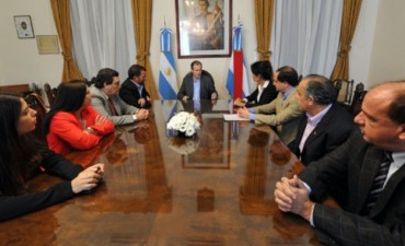 Bordet recibió apoyo de Diputados de Cambiemos para buscar financiamiento