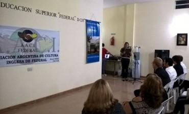 El Municipio participó de la apertura de las actividades del Instituto de Educación Superior Federal D - 235
