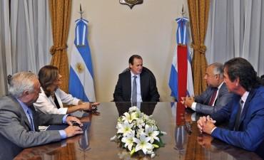 El STJ y la Junta Federal de Cortes acuerdan con Bordet la necesidad de modernizar el Poder Judicial
