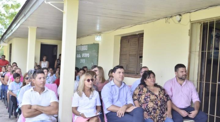 AUTORIDADES MUNICIPALES PARTICIPARON DEL ACTO DE INICIO DEL CICLO LECTIVO EN FEDERAL