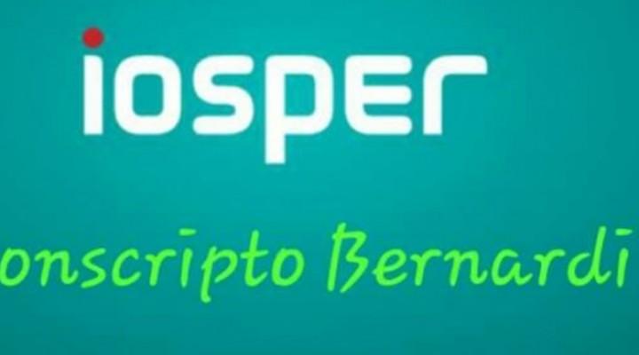 CONSCRIPTO BERNARDI: Traslado de oficinas del Iosper y Área de Pensiones al C.I.C