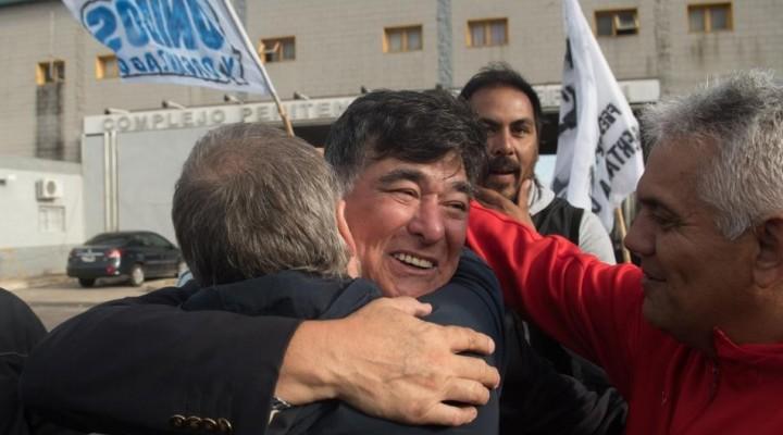 """Carlos Zannini recuperó la libertad  """"Estuve detenido por voluntad de los que mandan"""