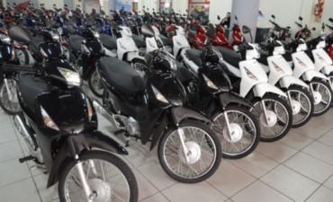 En marzo, el patentamiento de motos subió 22 por ciento