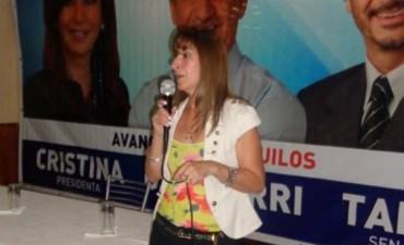 Patricia Padilla lanzó su precandidatura a Jefe Municipal por el PJ