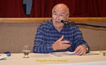 Nuevo encuentro de la cátedra abierta del chamame con Mariano Alarcón Muñiz