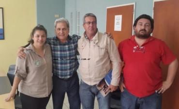 Acercamiento entre la concejal Maldonado y Julio Solanas
