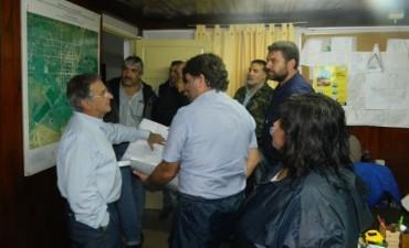 El Intendente municipal recibió al ministro de planeamiento e infraestructura de la provincia