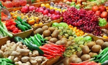 Por las lluvias se esperan aumentos en frutas y verduras
