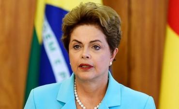 Dilma Rousseff advirtió que enfrenta un golpe de Estado