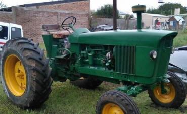 Se recuperó un tractor que había sido robado el año anterior