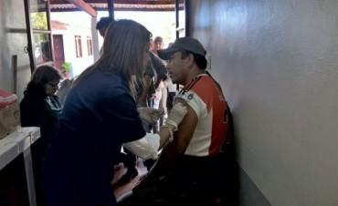 Personal Municipal recibió la vacuna antigripal