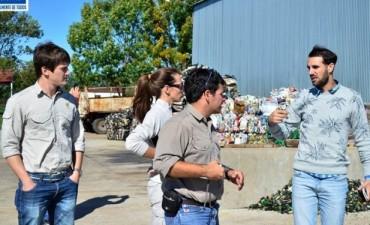 Técnicos del INTI y UTN visitaron la planta de residuos de la ciudad