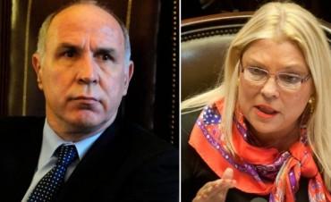 Lorenzetti intimó a Carrió y la jueza Servini por supuestas injurias