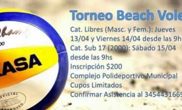 TORNEO DE BEACH VOLEY EN SEMANA SANTA