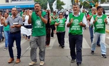 Trabajadores estatales de ATE paran este miércoles en Entre Ríos