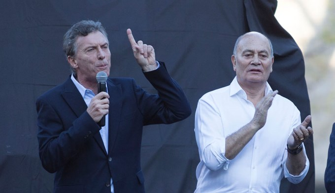 Macri tendrá su propio 1º de mayo con Venegas