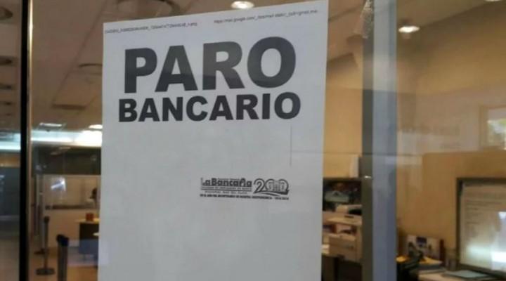Bancarios definieron un nuevo paro por 48 horas
