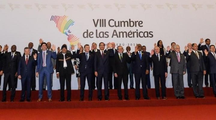 La Cumbre de las Américas aprobó un compromiso de
